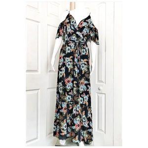 9fcdfc7a98da LOFT Dresses - Loft Summer Floral Cold Shoulder Maxi Dress